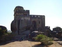 Madan mahal,Durgavati forte,princes palace,ancient Indian civilization. It is in Jabalpur rani Durgavati forte it is called madan mahal in madhyapradesh,india Royalty Free Stock Photo