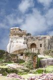 Madan Mahal Fort a construction on rock boulder, Jabalpur, India. Madan Mahal Fort situated on a top of a hill dates back to 11th century AD Royalty Free Stock Images