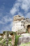 Ruins of Madan mahal archway and fort, Jabalpur, India. Madan Mahal Fort situated on a top of a hill dates back to 11th century AD Royalty Free Stock Image