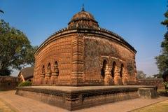 Madan Mohan temple Bishnupur. The beautiful Madan Mohan hindu temple on a bright sunny day Stock Photography