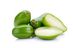 Madan,tropical thai fruit.  Royalty Free Stock Images