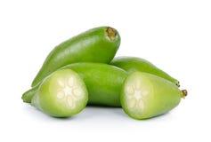 Madan tropical thai fruit on white background Royalty Free Stock Image