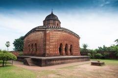 Madanmohan-Tempel, Bishnupur, Indien Lizenzfreie Stockfotos