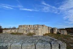 Madara-Festung, Bulgarien lizenzfreie stockfotos