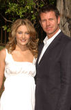 Madchen Amick. And Lloyd Owen at the 5th Annual BAFTA-LA Tea Party honoring Emmy Nominees. Wattles Mansion, Los Angeles, CA. 09-15-07 Royalty Free Stock Photos