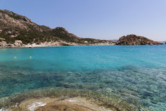 Maddalena Beach Stock Photography