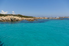 Maddalena Beach Royalty Free Stock Photography