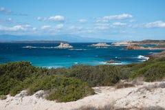 Maddalena-Insel lizenzfreies stockfoto
