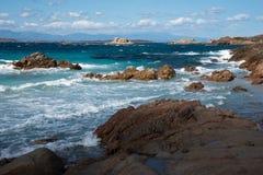 Maddalena-Insel stockfotos