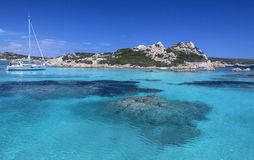 Maddalena Islands - Sardinia - Italy Stock Photos