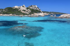 The Maddalena Islands - Sardinia - Italy royalty free stock image