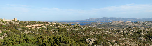 Maddalena Palau Sardinia Royalty Free Stock Photography