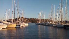 Maddalena port Arkivfoton