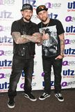The Madden Brothers Perform at Q102 in Bala Cynwyd, PA, USA Stock Photography