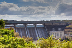 Madden dam. Madden dam in Colon province, Panama, tames the wild Rio Chagres at the upstream end of the Panama Canal royalty free stock photography
