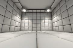 Maddrasserad cell Fotografering för Bildbyråer