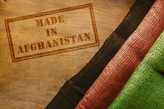 Made in Afghanistan Royalty Free Stock Images