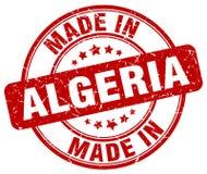 Made in Algeria stamp. Made in Algeria round grunge stamp isolated on white background. Algeria. made in Algeria
