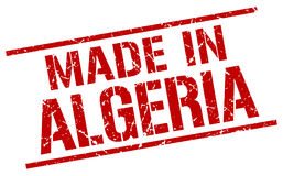 Made in Algeria stamp. Made in Algeria red stamp Royalty Free Stock Photos