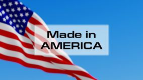 Made in America stock video
