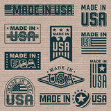 Made in America (USA) Royalty Free Stock Photography