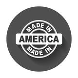 Made in America. Stock Image