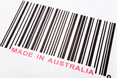 Made in Australia royalty free stock image
