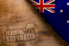 Made in Australia Stock Images