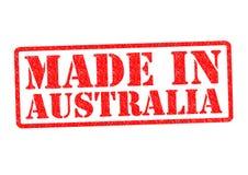 MADE IN AUSTRALIA Stock Image