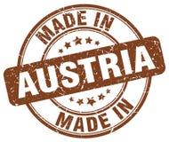 Made in Austria stamp. Made in Austria round grunge stamp isolated on white background. Austria. made in Austria