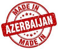 Made in Azerbaijan stamp. Made in Azerbaijan round grunge stamp isolated on white background. Azerbaijan. made in Azerbaijan