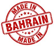Made in Bahrain stamp. Made in Bahrain round grunge stamp isolated on white background. Bahrain. made in Bahrain