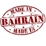 Made in Bahrain. Rubber stamp with text made in Bahrain inside,  illustration Royalty Free Stock Photos