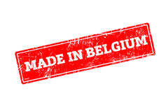 MADE IN BELGIUM Royalty Free Stock Photo