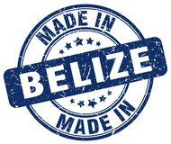 Made in Belize stamp. Made in Belize round grunge stamp isolated on white background. Belize. made in Belize