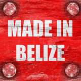 Made in belize Royalty Free Stock Photos
