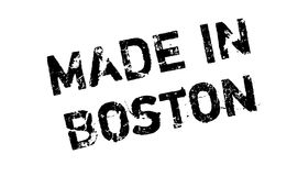 Made In Boston rubber stamp stock illustration