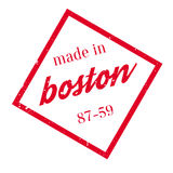 Made In Boston rubber stamp vector illustration