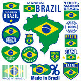 Made in BRAZIL Stock Images