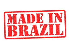 MADE IN BRAZIL Stock Photography