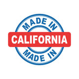 Made in California. Stock Images