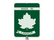 Made in Canada Royalty Free Stock Photography