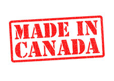 MADE IN CANADA Stock Image