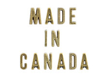 Made in Canada Royalty Free Stock Photos