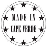 Made in Cape Verde Royalty Free Stock Images