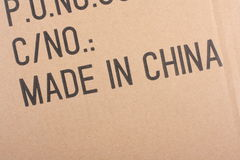 Made In China stock images
