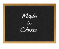 Made in China. Stock Photos
