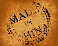 Made in china. Stamp with made in china written on it vector illustration