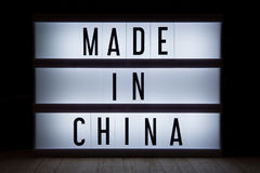 Made in China royalty free stock image