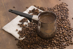 Made coffee hot Royalty Free Stock Photos